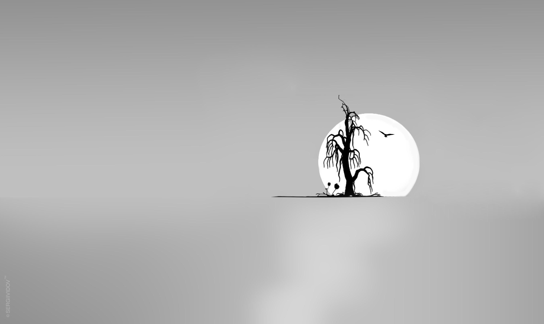 солнце, дерево, пейзаж, Sergii Vidov