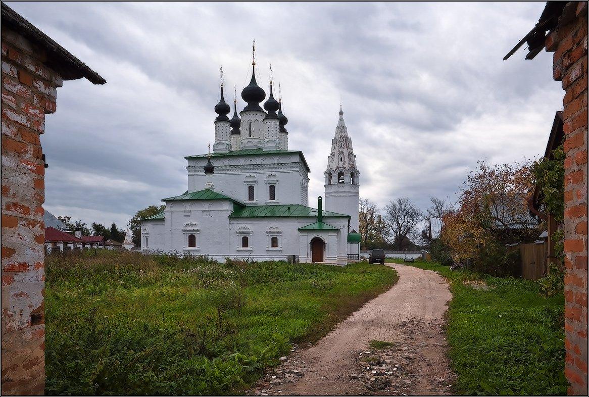 монастырь, суздаль, Иван