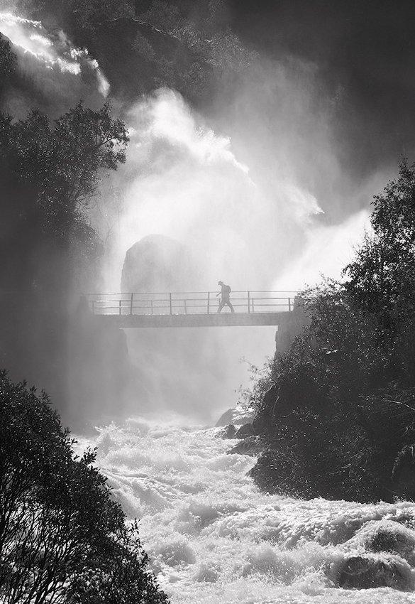 норвегия, водопад бриксдаллен, Ne Horoshiy