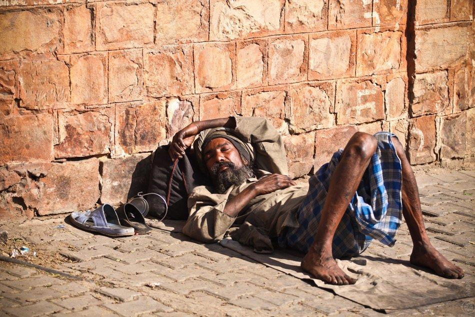 dream, india, street, сон, индия, улица, странник, бродяга, мудрец, Andrey Yaremchuk