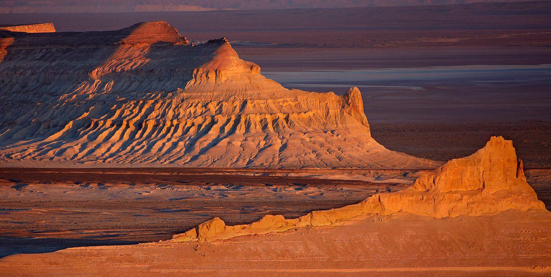 закат, казахстан, плато устюрт, Ne Horoshiy