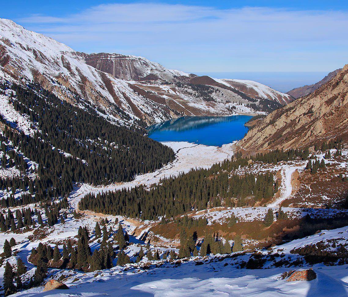 озеро, алматинское, большое, Ne Horoshiy