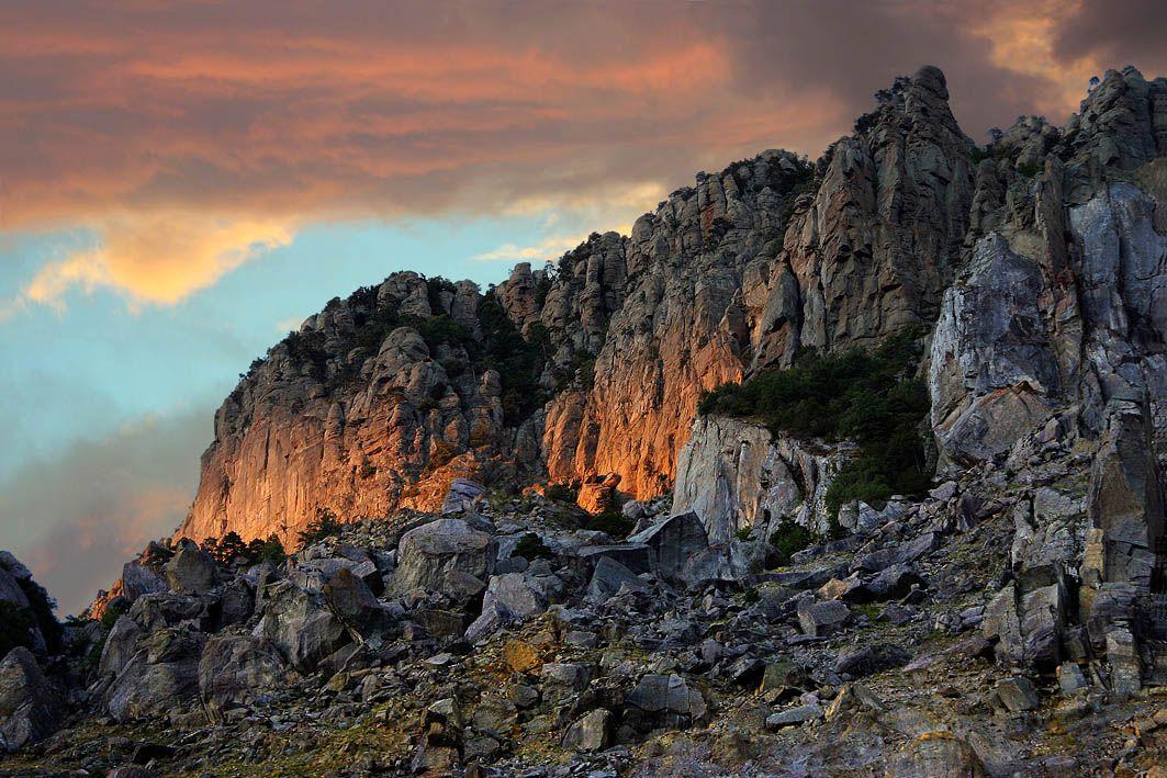 демерджи, крым, закат, скалы, Sergey_Nik_Melnik