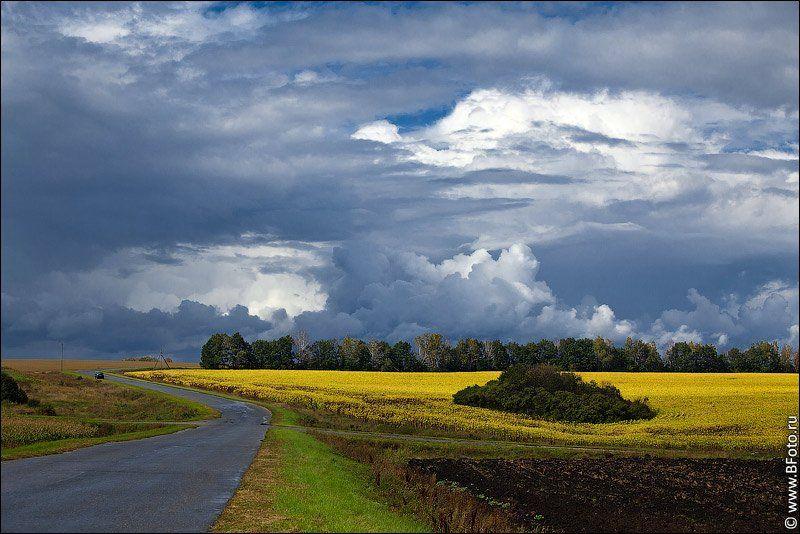 осень, пейзаж, фото, высокого, разрешения, Алексей Строганов www.BFoto.ru