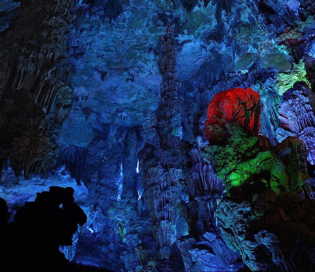 пещера тростниковой флейты, гуйлинь, китай, Ne Horoshiy