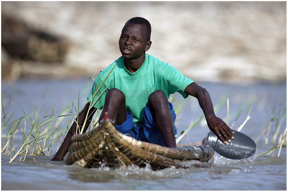 баринго, лодка, рыбак, Roman Gamurar