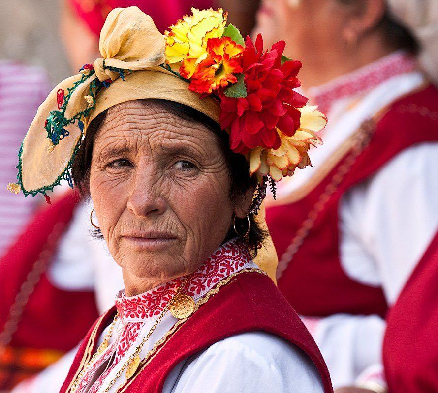 праздник, крестянка, Жечо Планински