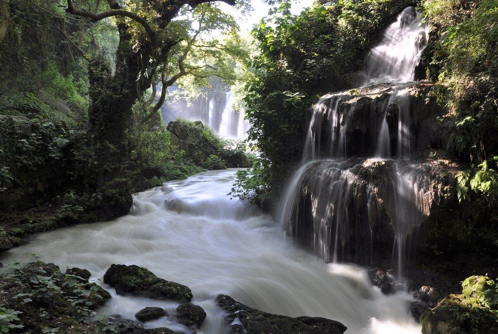 дюден водопад, турция, Света и Вася