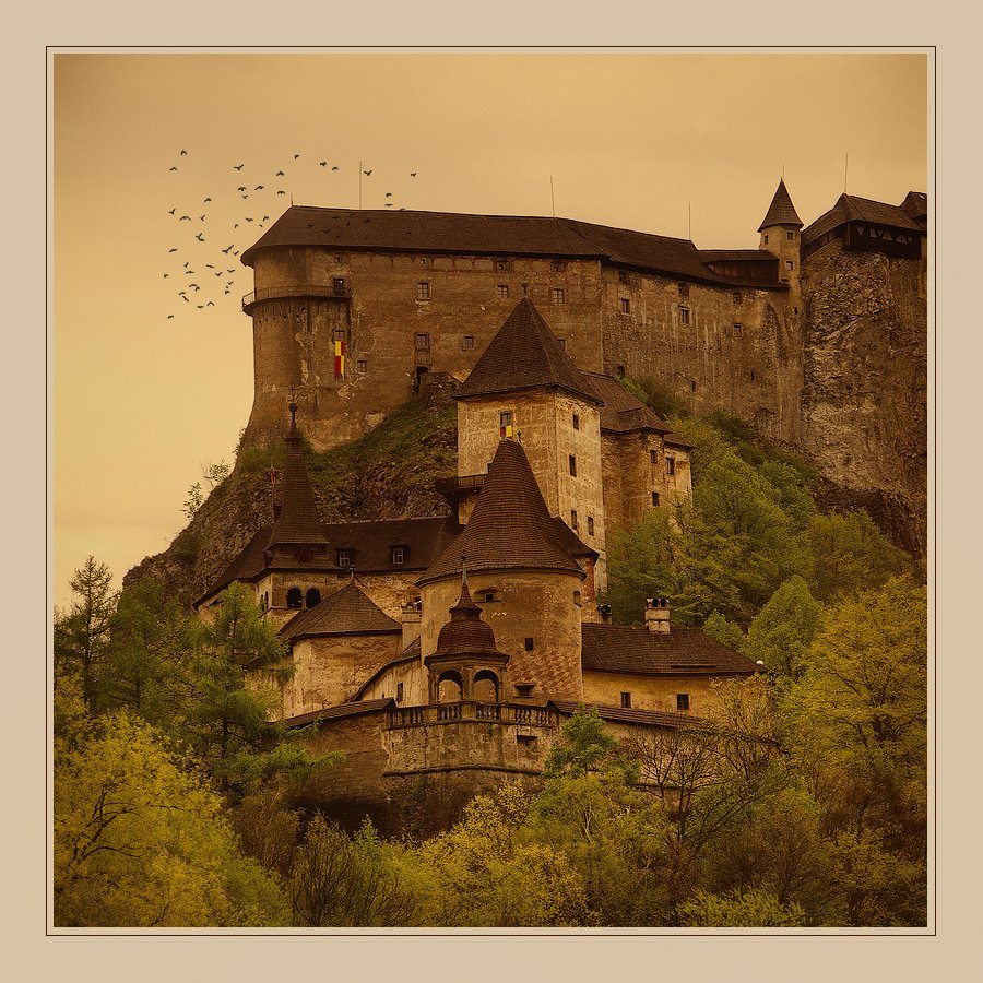замок, словакия, пейзаж, Oleg Dmitriev