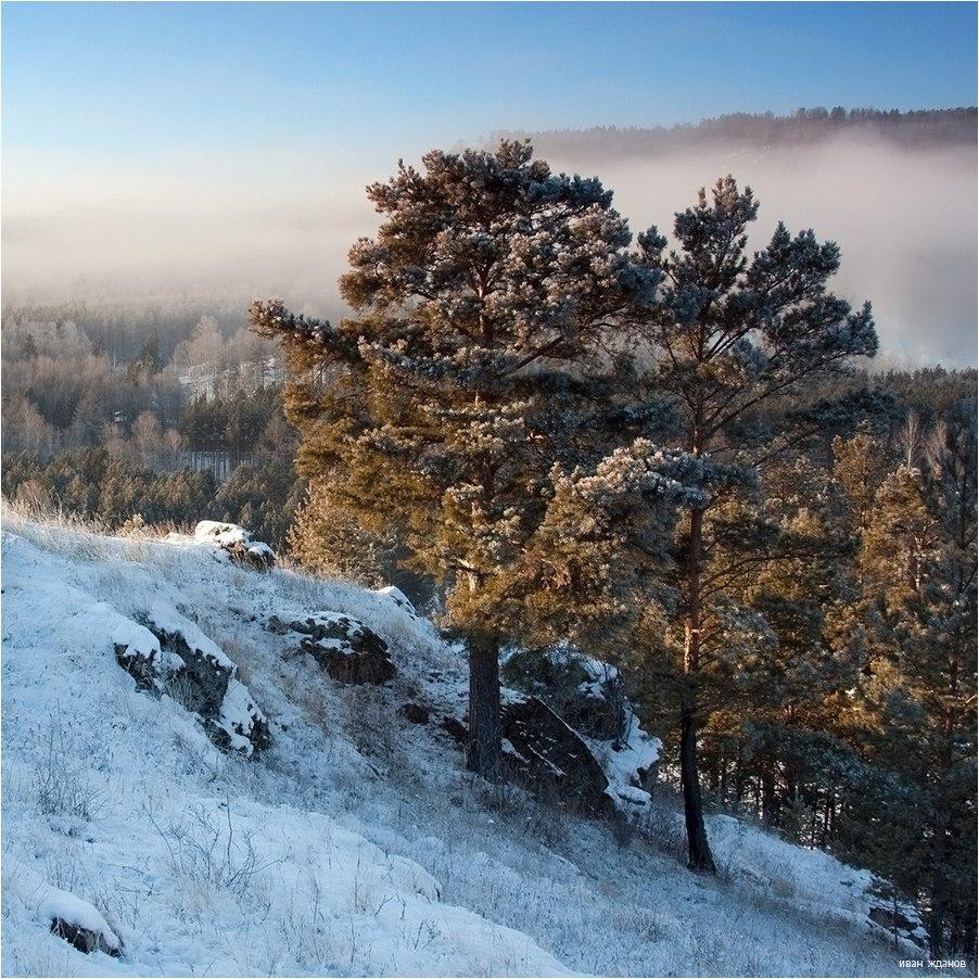 горы, южный, урал, осень, перый, снег, Иван Жданов