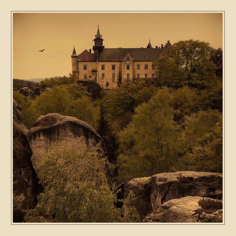 замок, чехия, пейзаж, Oleg Dmitriev