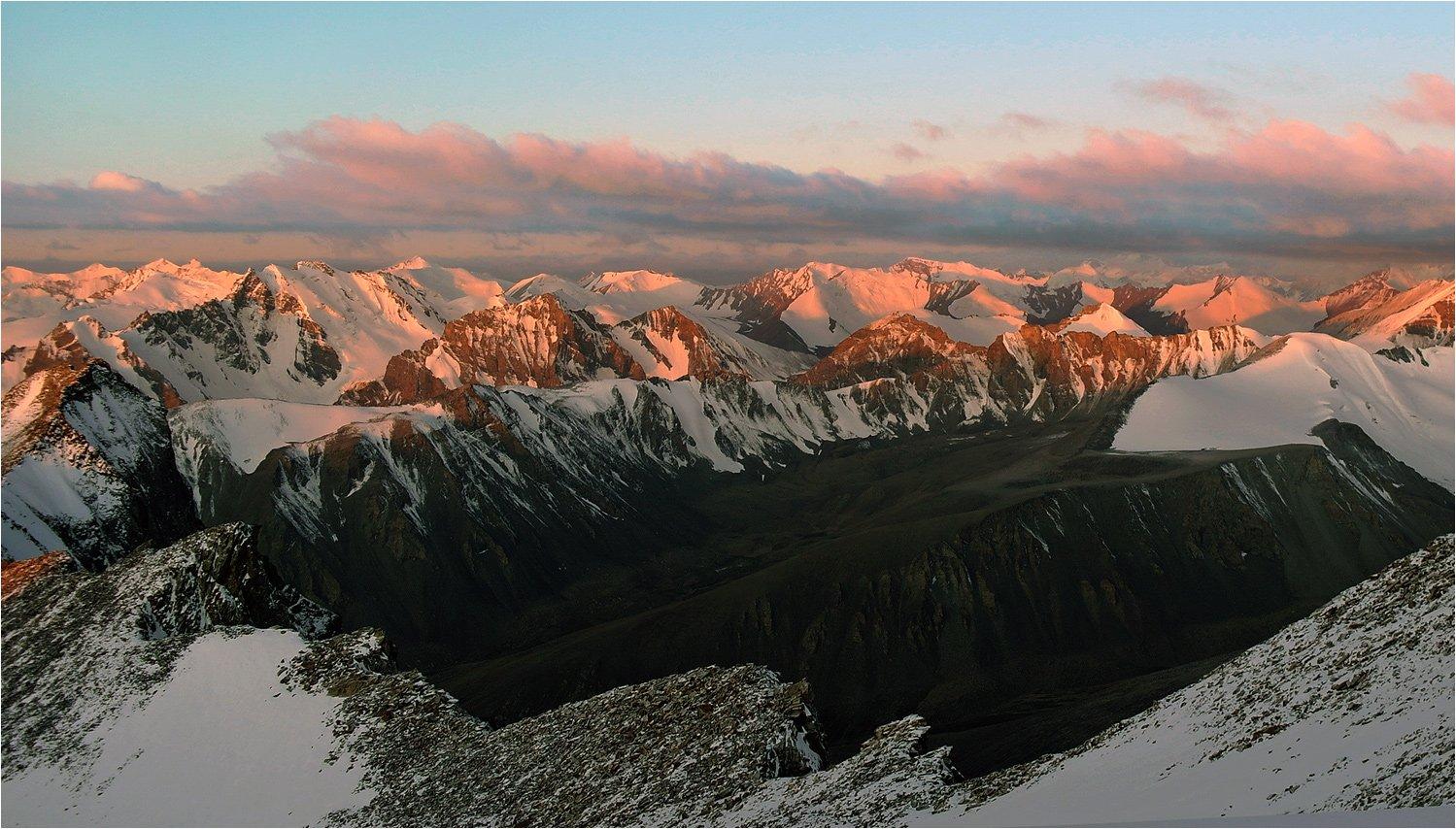 горы, памир, туризм, альпинизм, Иван Жданов