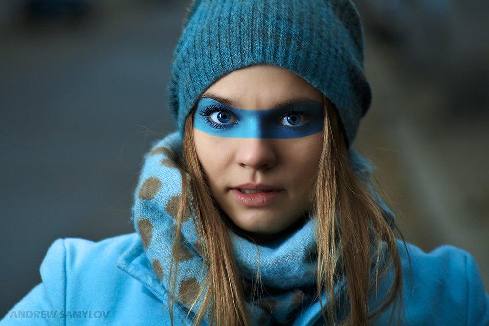 one light photography, strobism, fashion, portrait, andrew samylov, thanks to, zack arias, mask, Андрей Самылов