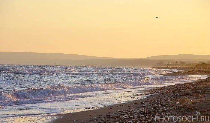 пейзаж, закат, море, янтарь, photosochi.ru, таманский полуостров, черное море, Евгений Харланов