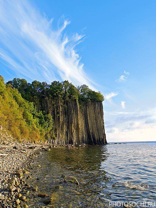 пейзаж, море, скала киселёва, туапсе, Евгений Харланов