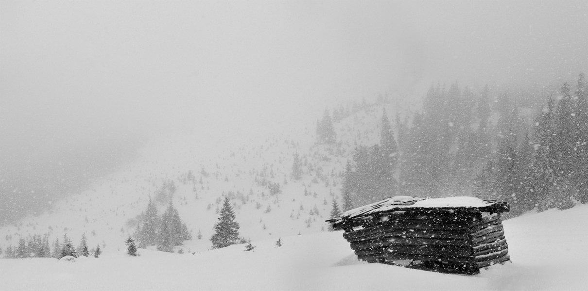 карпаты, природа, пейзаж, снег, туман, панорама, Piligrim