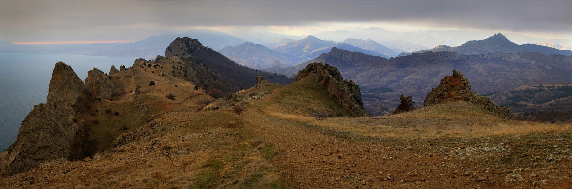 крым, зима, , море, горы, Anastasia Aymilios