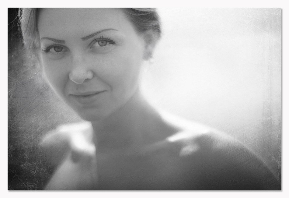 портрет, девушка, взгляд, Артем Кодолов