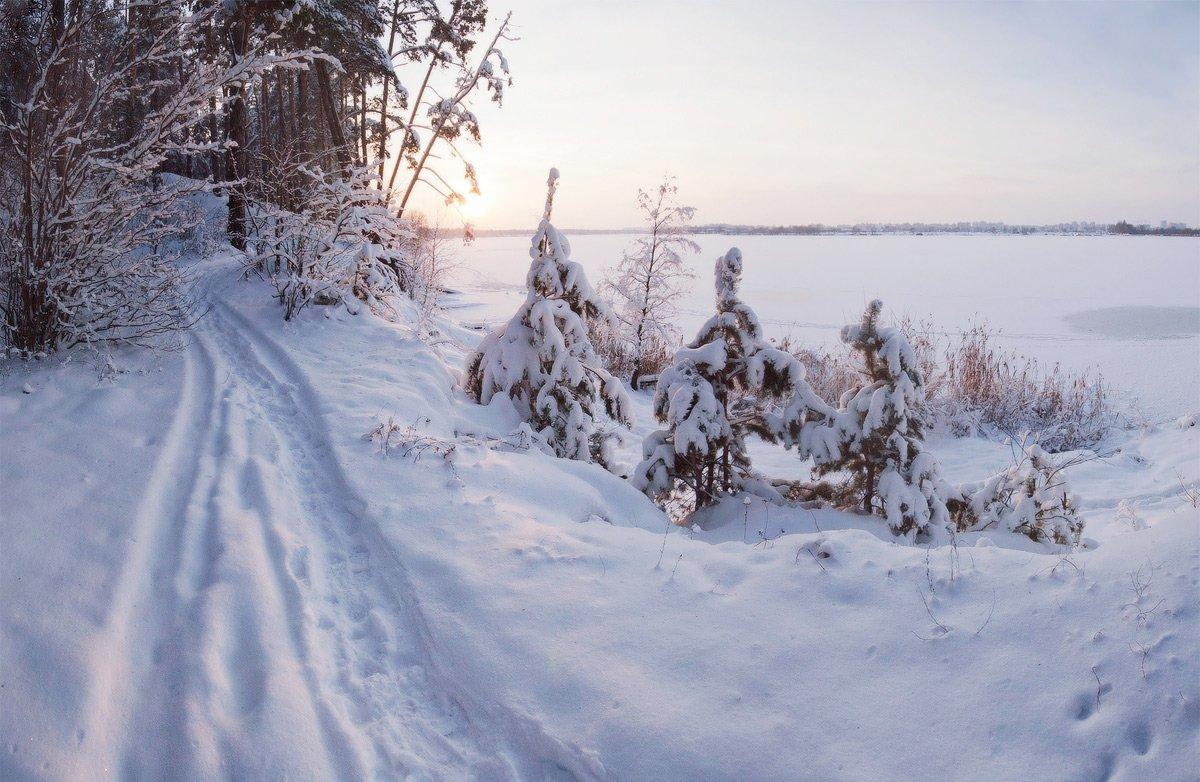 природа, пейзаж, панорама, зима, Piligrim