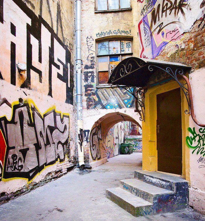 город, санкт-петербург, стрит, арт, граффити, Viktor Kalechenkov