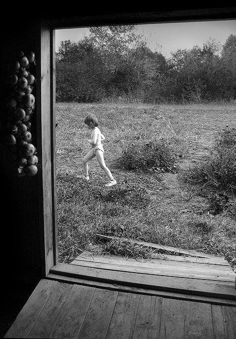 прошлое, дверь, детство, Василий Одинцов (Begic)