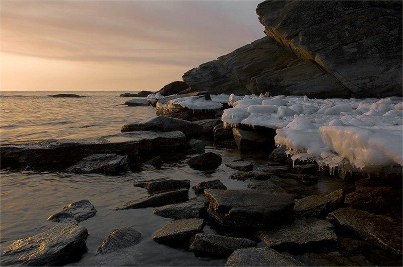 утро, море, весна, Mart