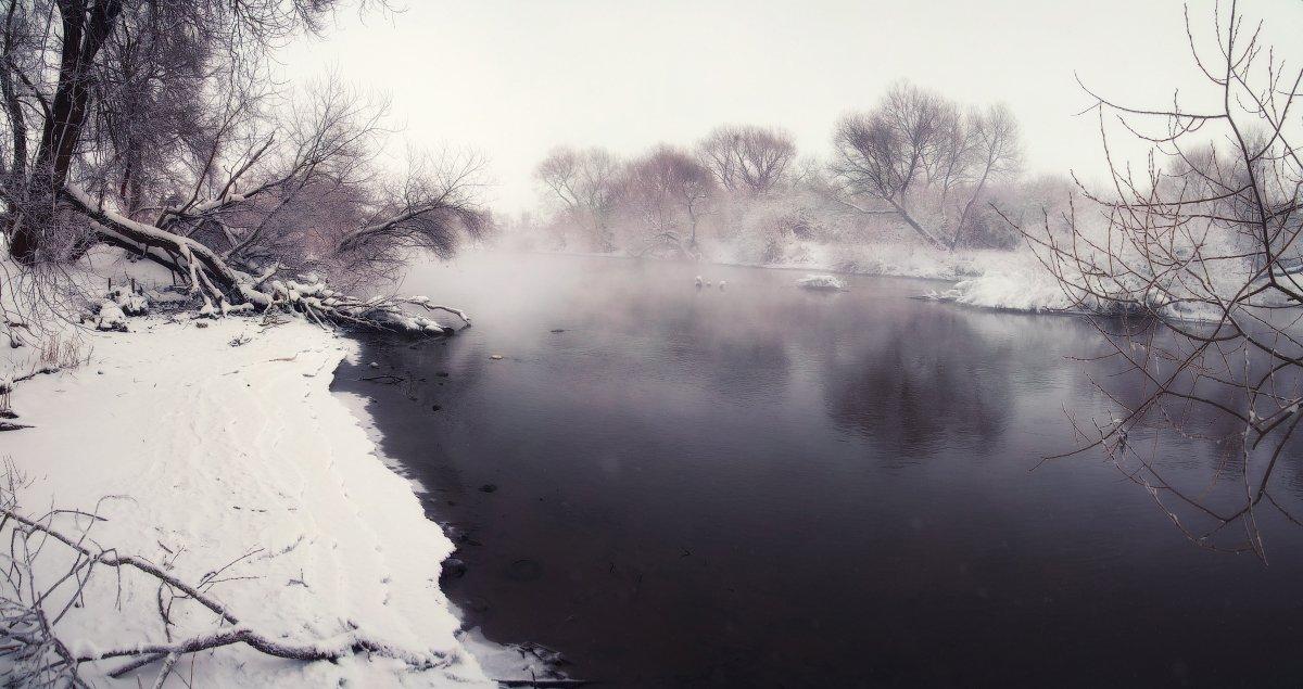 зима, мороз, утро, Андрей Радюк