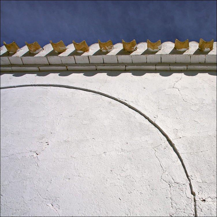 стена, небо, черепица, Тарасов Алексей