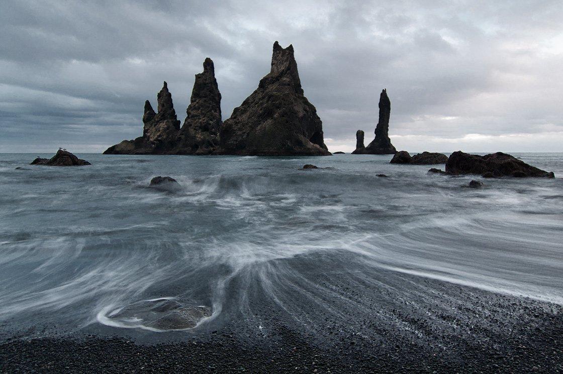 reynidrangar,vik,iceland, Maas