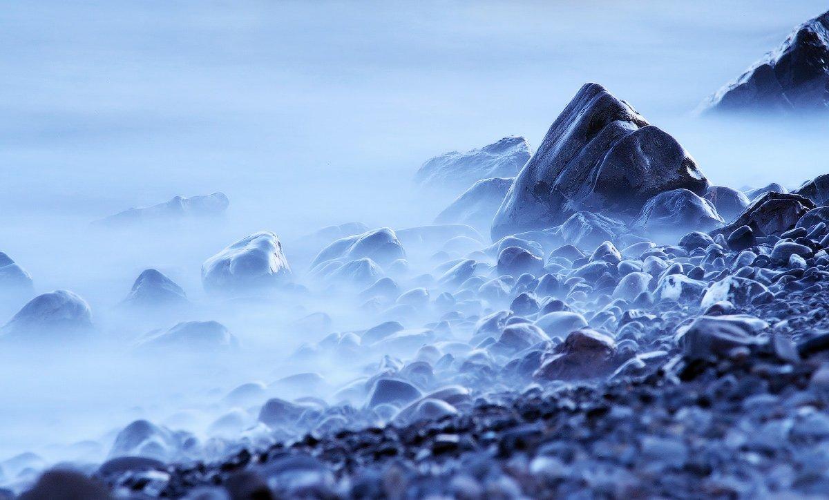 крым, море, черное, камни, вода, Leonid Tit