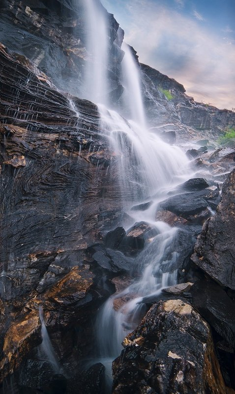 норвегия, водопад, Oleg Kuchorenko