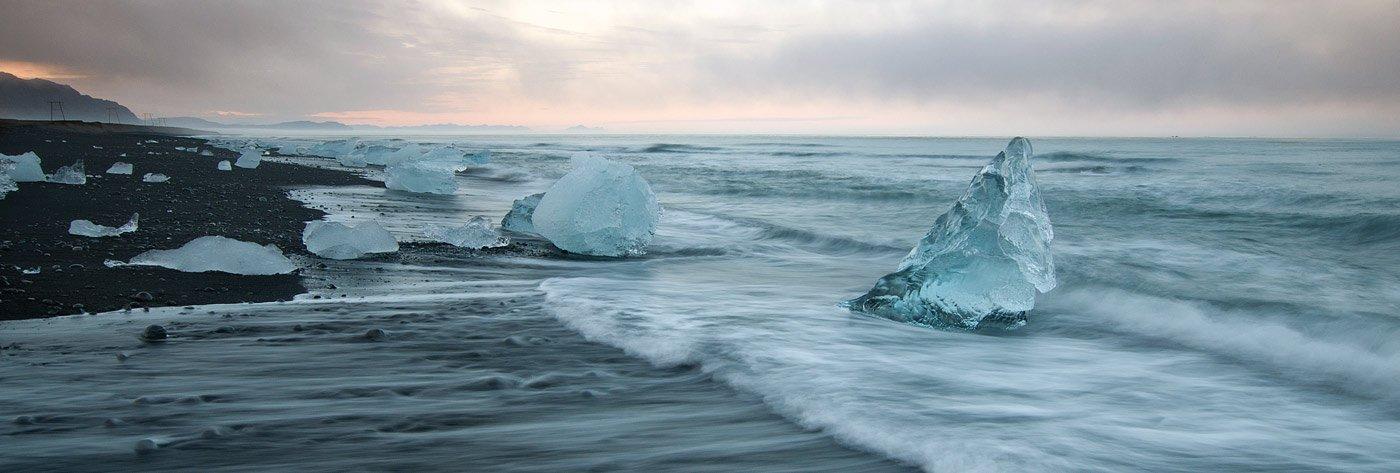 iceland, jokulsarlon,sunset, Максим *