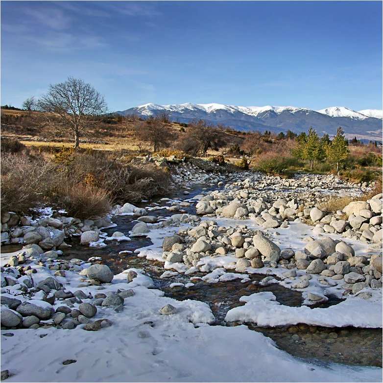 горы, река, банско, Тарасов Алексей