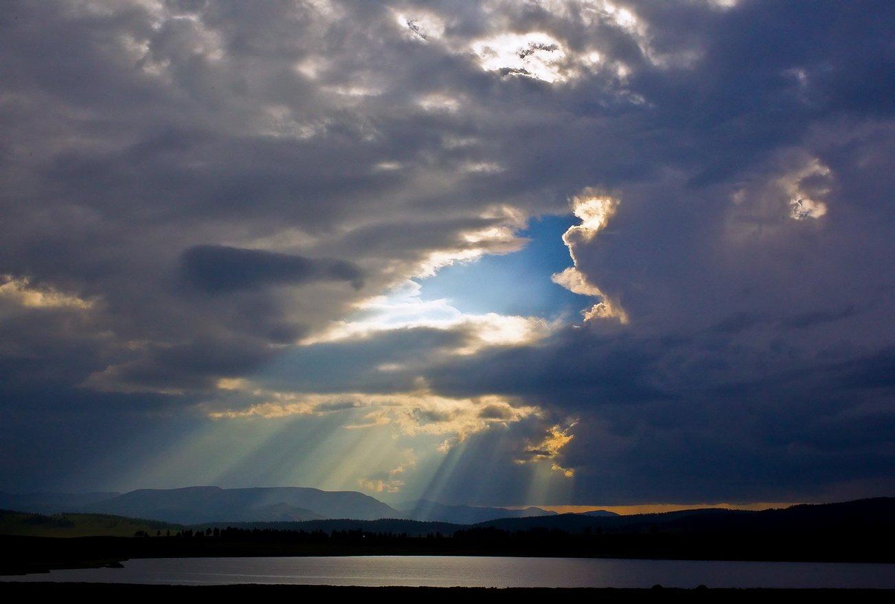 алтай,горный алтай ,улаганское озеро., Олег Кулаков