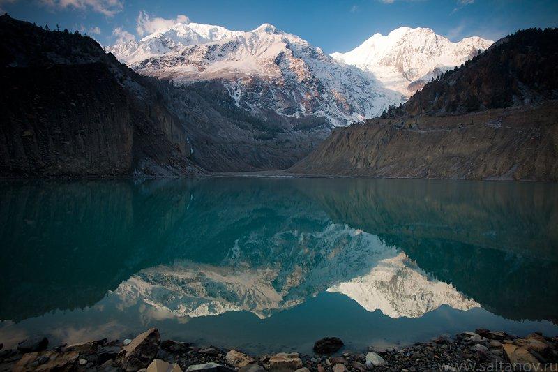 гангапурна, гималаи, непал, гора, озеро, Антон Салтанов