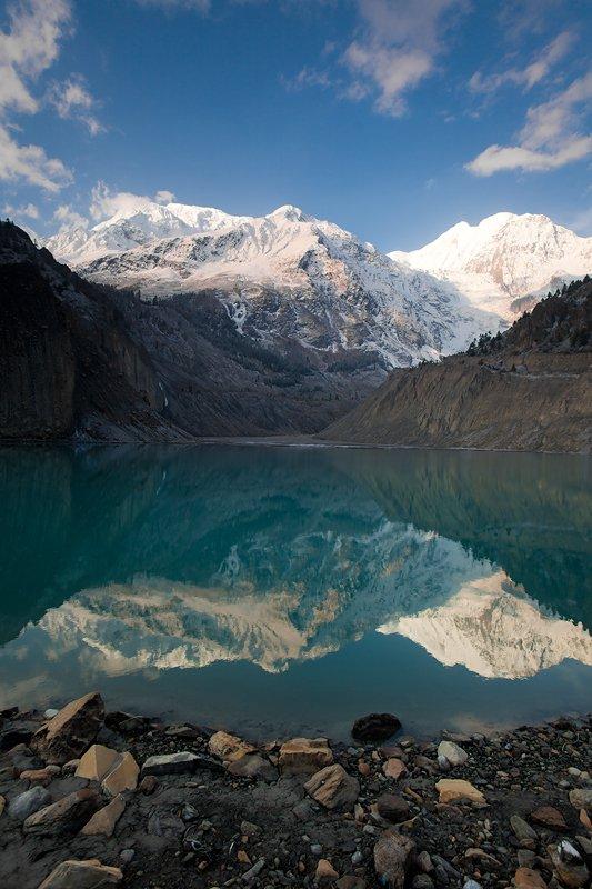 гангапурна, гималаи, непал, гора, озера, Антон Салтанов
