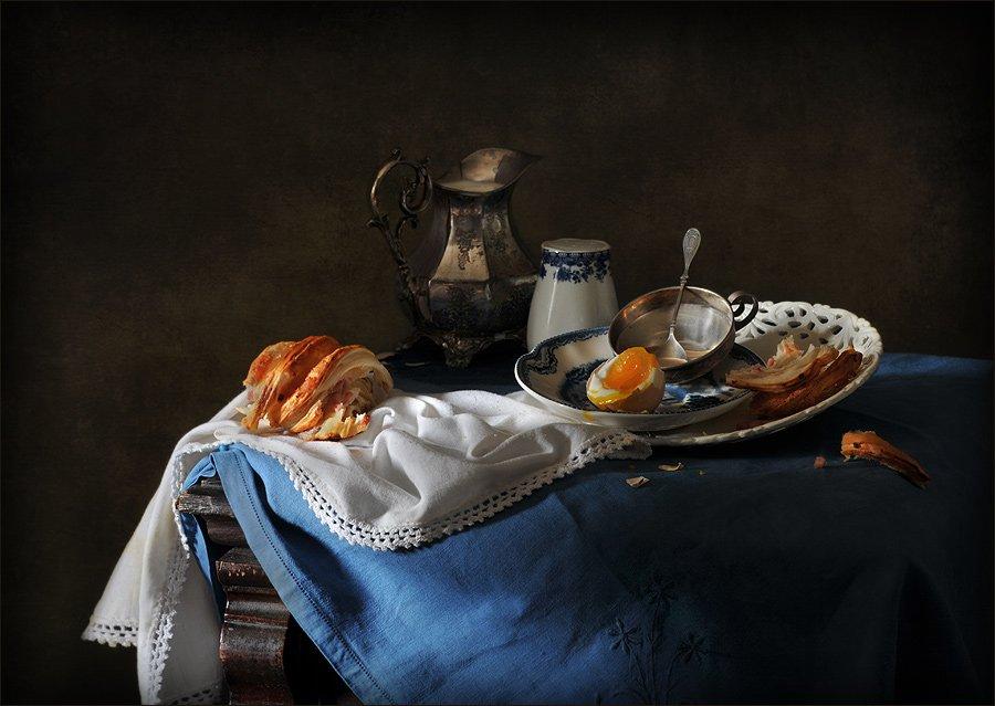 натюрморт, завтрак, Елена