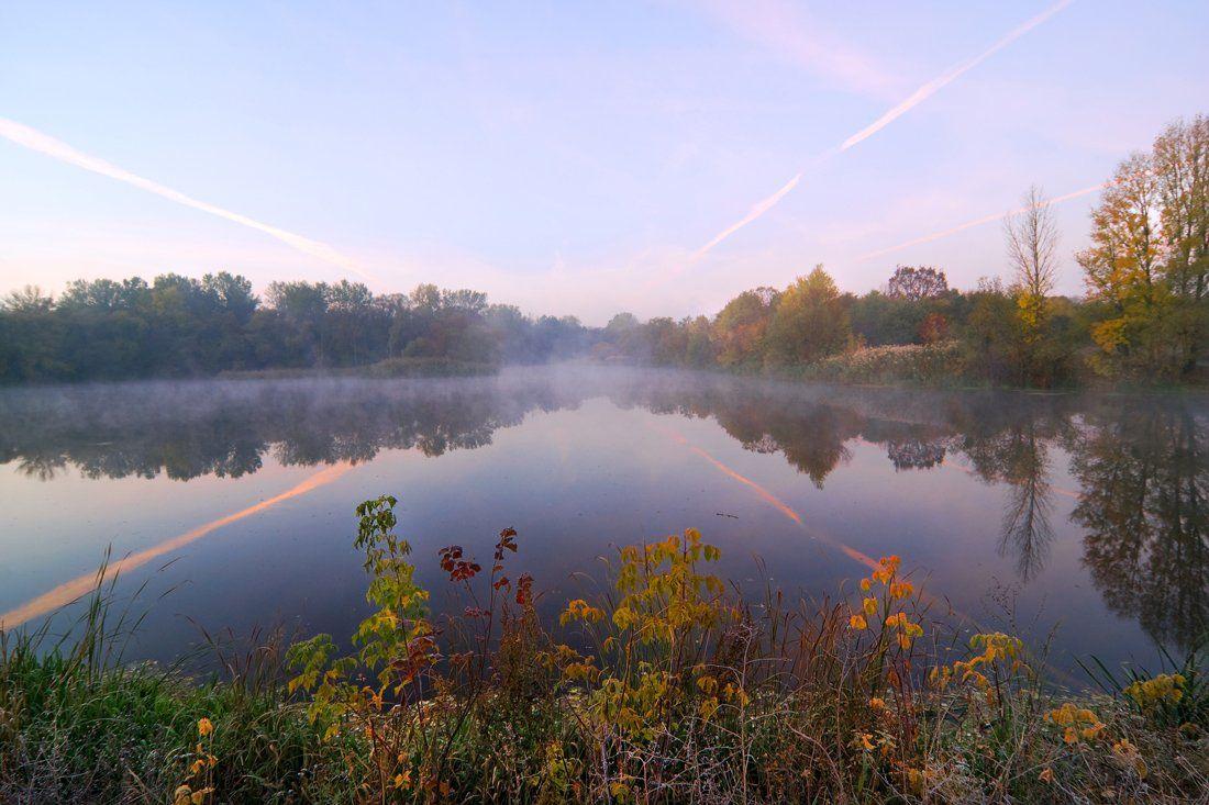 соень, утро, речка, sa56