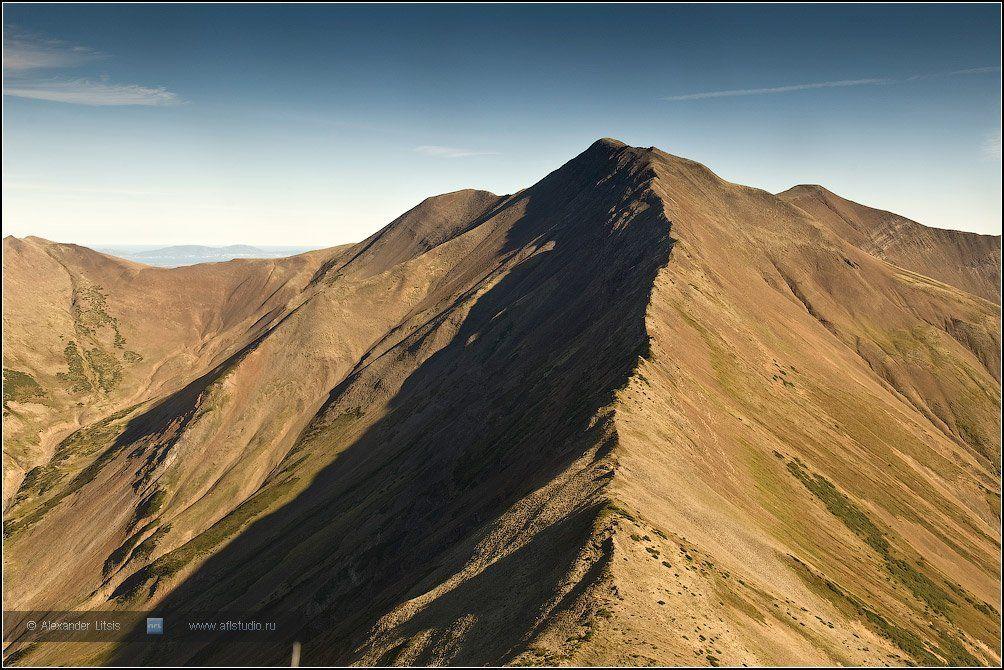 горы,хребет,одиночество,камчатка, Александр Лицис