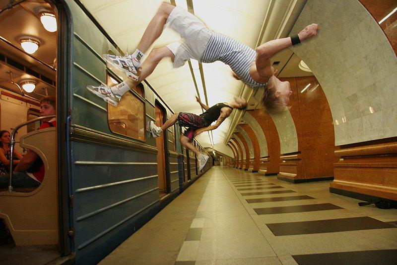 метро паркур, Смолянская Евгения