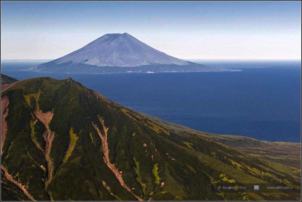 вулкан,остров,алаид,курилы, Александр Лицис