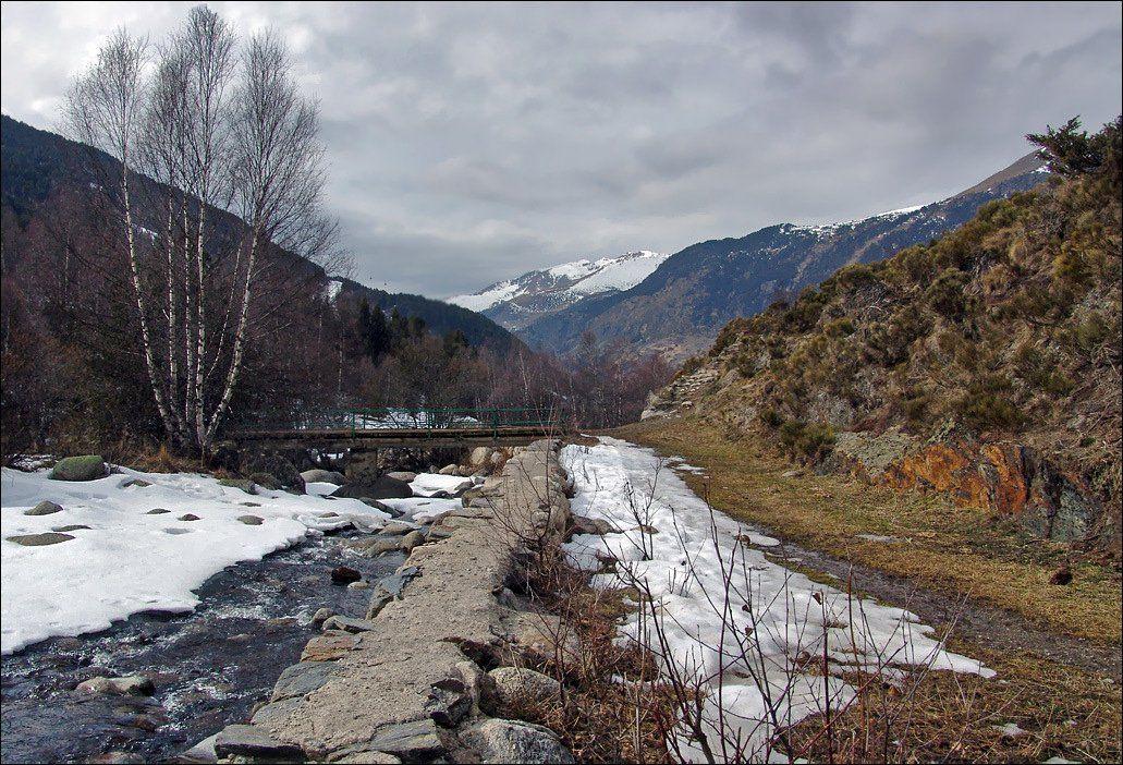 горы, андорра, весна, Тарасов Алексей