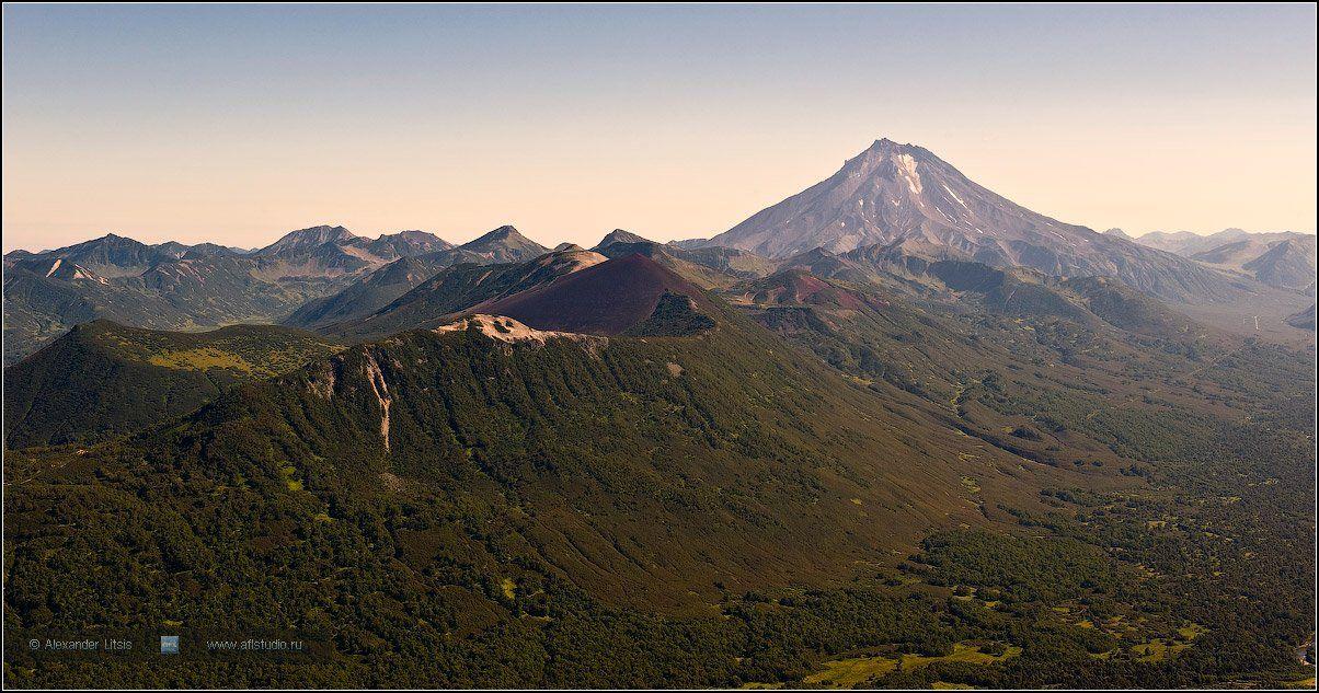 горы,вершины,вулкан,вилючинский,камчатка, Александр Лицис