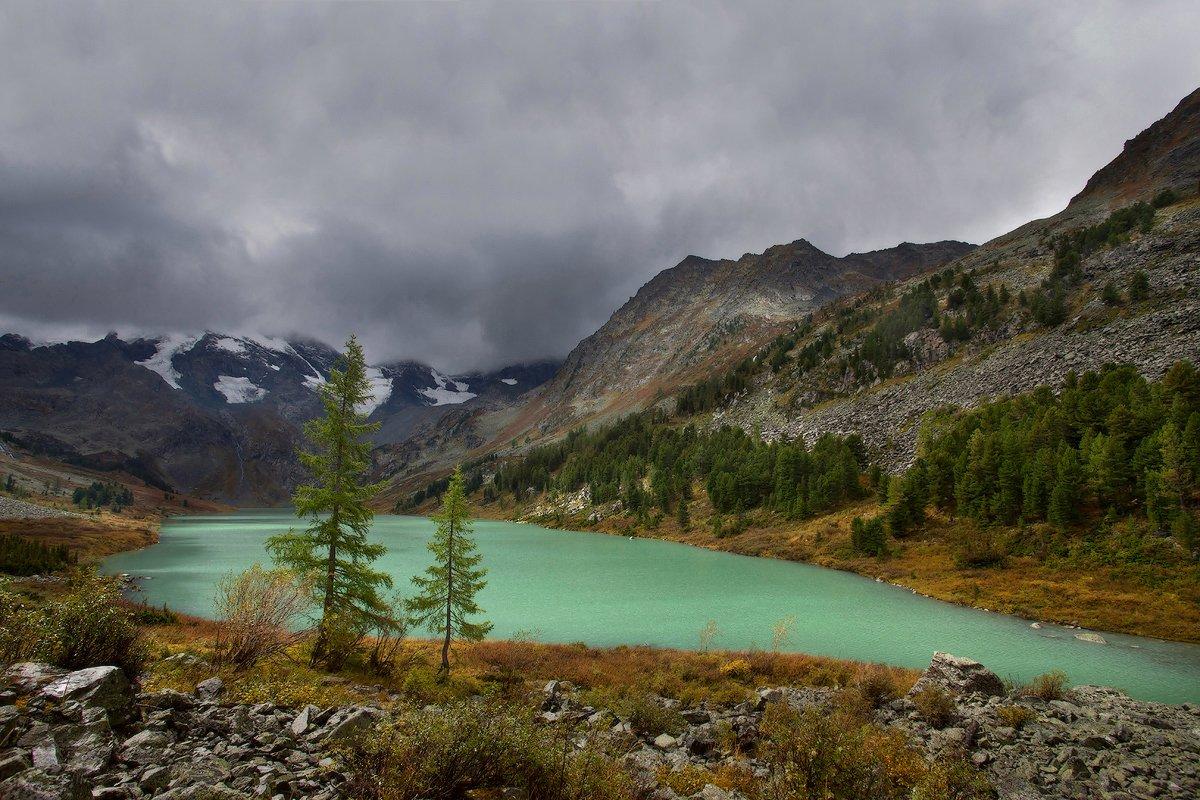 алтай, горный алтай, горы, пейзаж, поперечное озеро, Елена Арсентьева