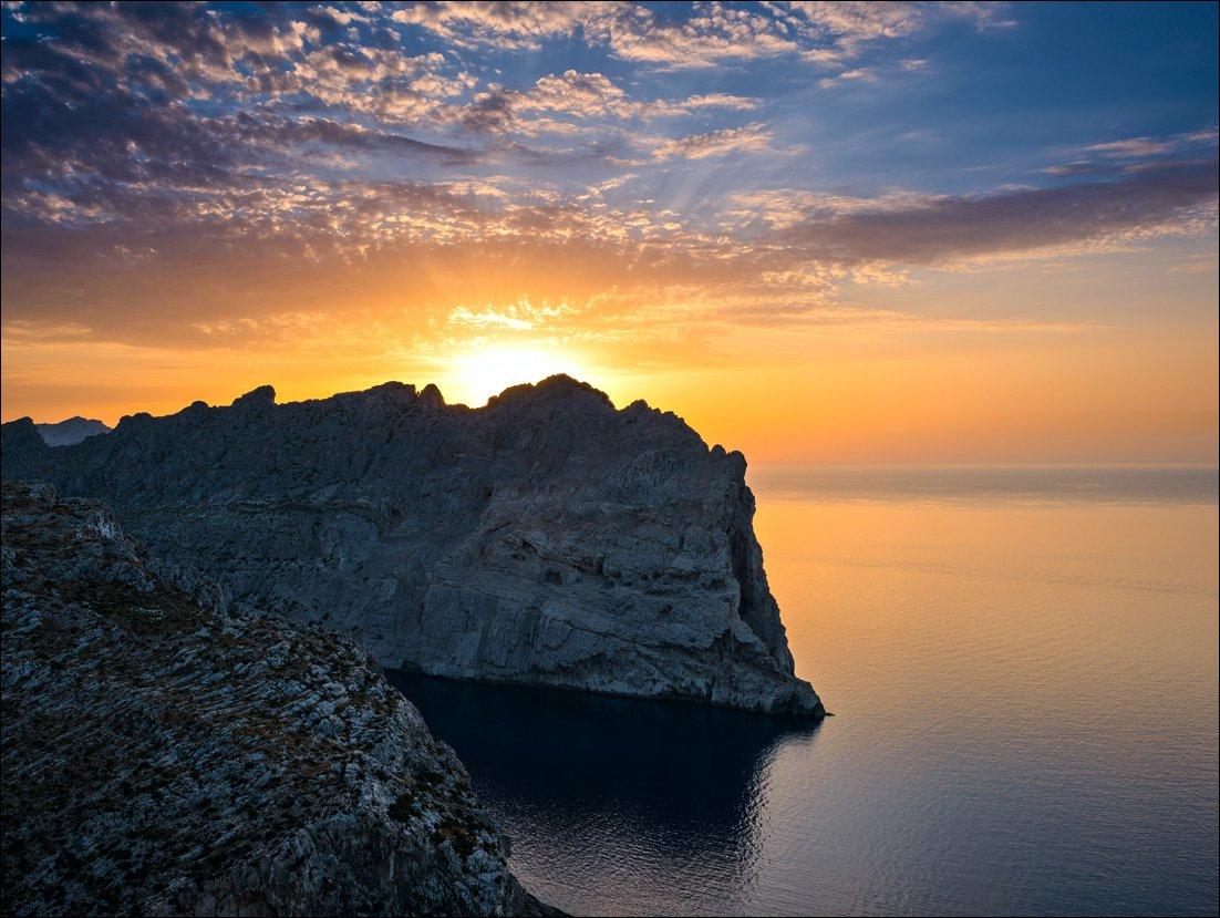 майорка,форментор,солнце,закат,море, Александр Константинов