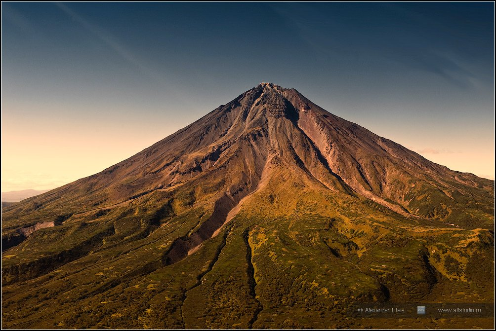 гора,вершина,вулкан,камчатка,опала, Александр Лицис