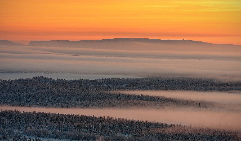 кольский, полуостров, зима, Nikolai (locus)