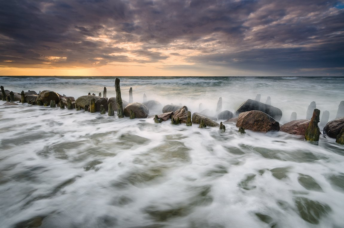 пейзаж, море, балтика, Дмитрий Бойко
