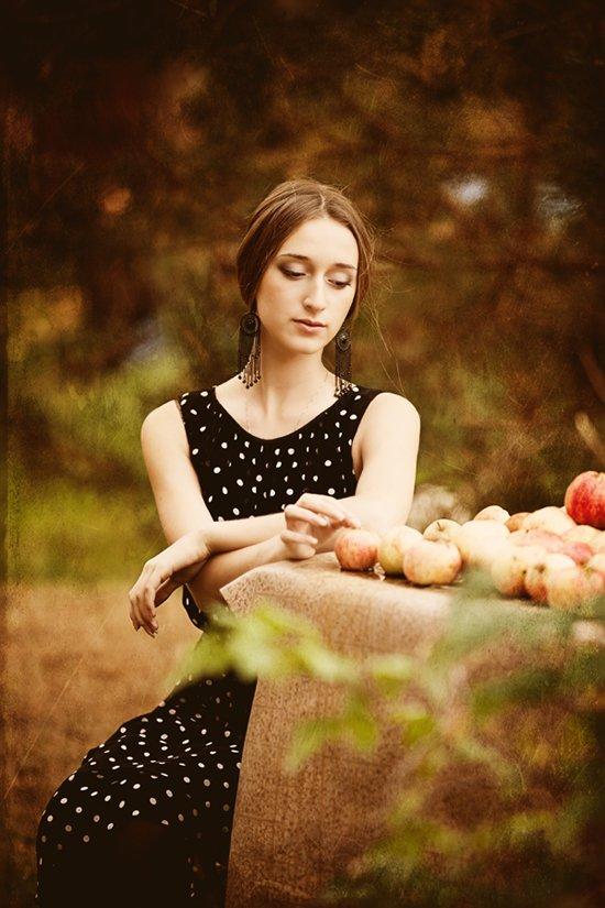 портрет,девушка,осень, Мария