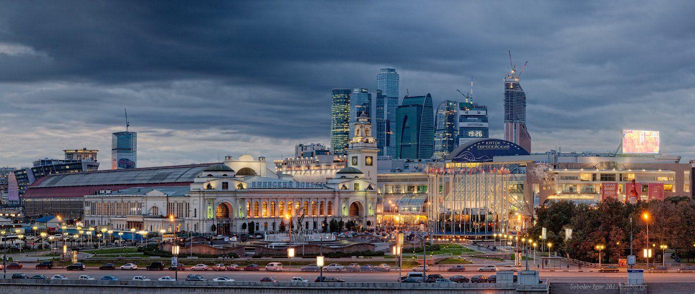 фото площадь европы в москве